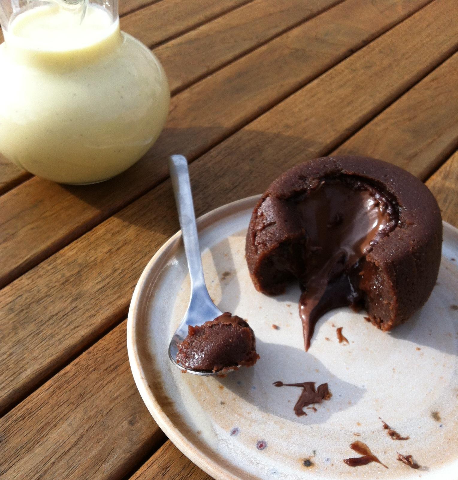Gateau coeur fondant nutella arts culinaires magiques - Gateau au nutella fondant ...