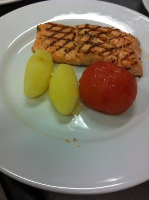Darnes de saumon grillées